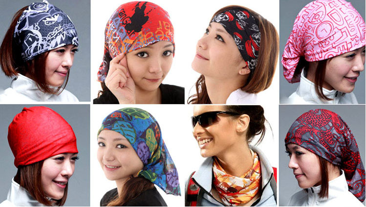 Custom Printing Multi-purpose Seamless Headwear 6a6fd6cb819