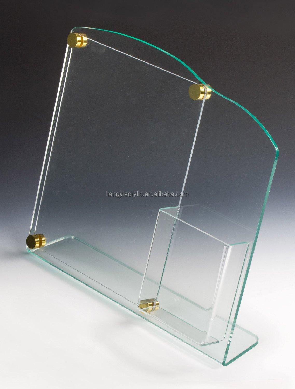 Clear Customized Acrylic Brochure Holder - Flyer Displays ...