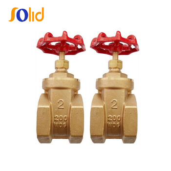 High Quality Brass/Bronze Gate Valve with Full Brass Material PN16