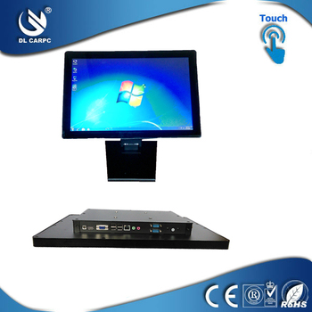 22 inch touch all in one desktop with Intel Atom J1900,1.8GHz CPU, fanless all in one computer case