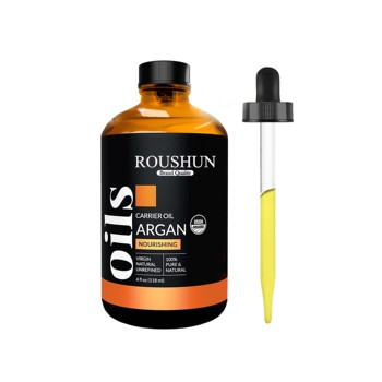 Amazon hot sale Private label customization ROUSHUN 100% Organic Moroccan Argan Oil