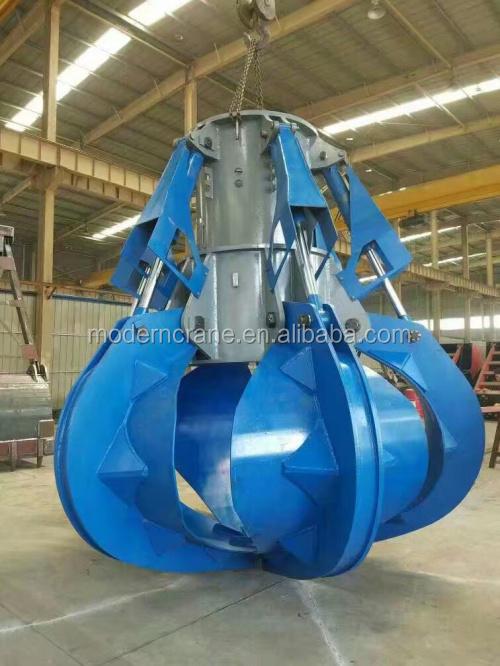 China Hydraulic Clamshell Grab Bucket-Electric Motor