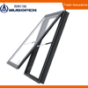 Modern Style heat resistant double toughened Aluminum Tilt and Turn Window
