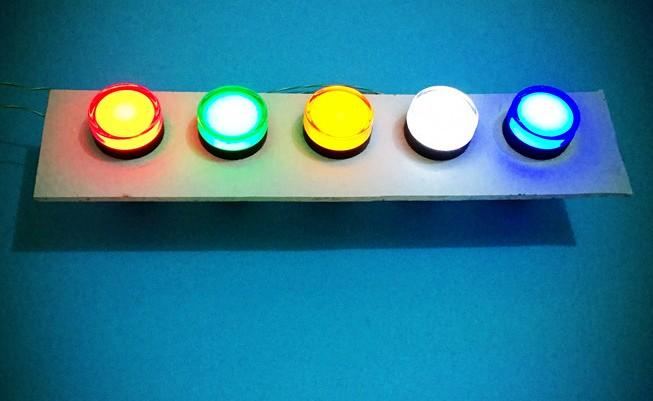 Smart Bes Indicator Light Xb2-bvm3lc Xb2-bvm4lc Mounting Hole 22mm ...