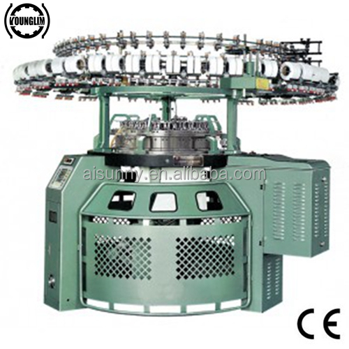 High Speed Carding Velvet Circular Knitting Machine