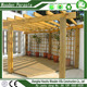Waterproof Outdoor Wooden Pergola Awning