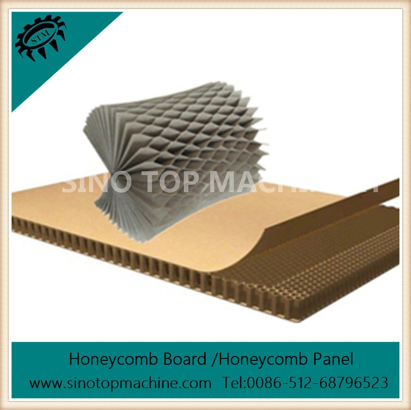 Paper honeyomb core board made in China