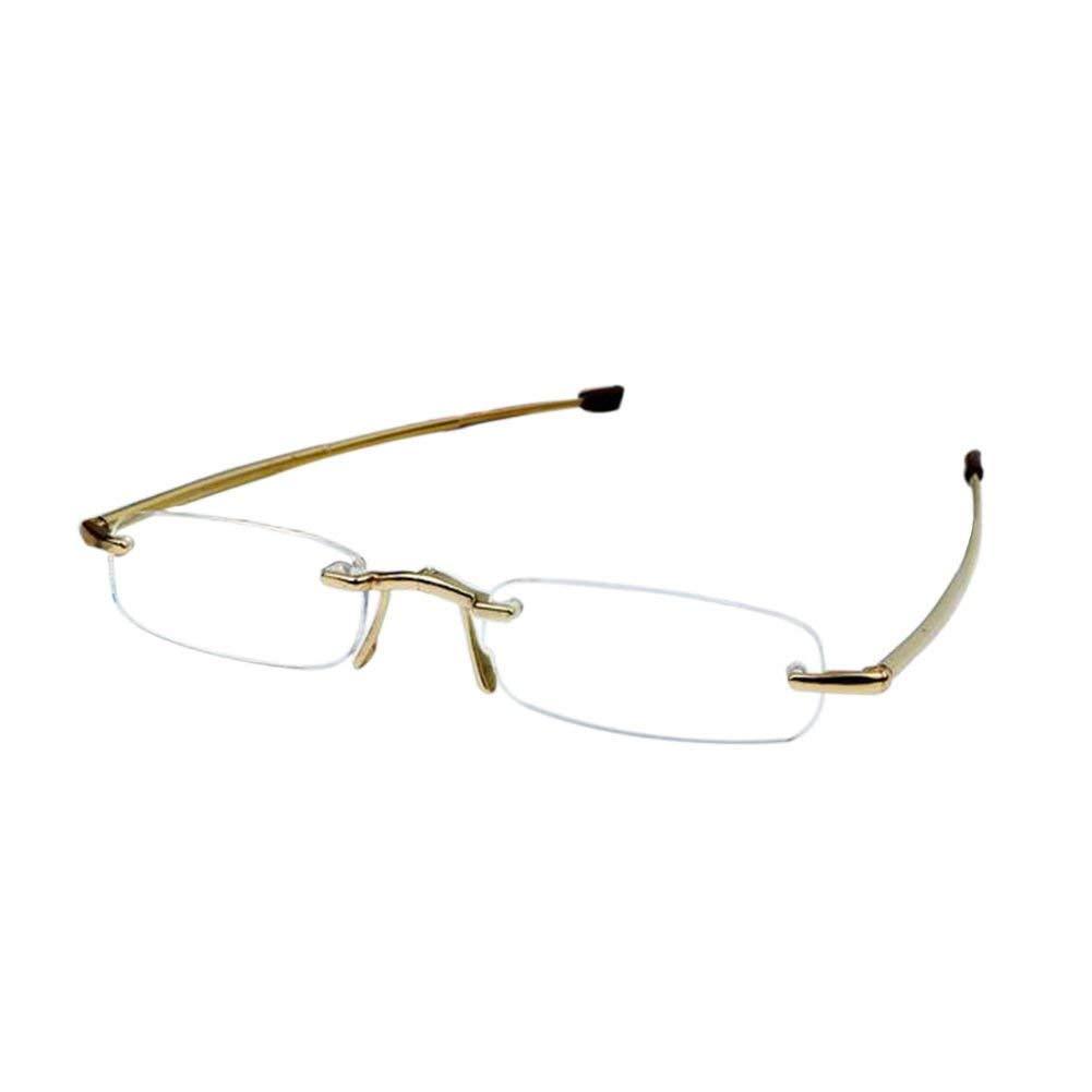 Meijunter Fold Telescopic Legs Portable Reading Glasses With Mini Glasses Case Strength +1.00 +1.50 +2.00 +2.50 +3.00 +3.50 +4.00