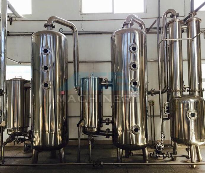 Industrial Liquid Concentration Triple-Effect Falling Film Evaporator