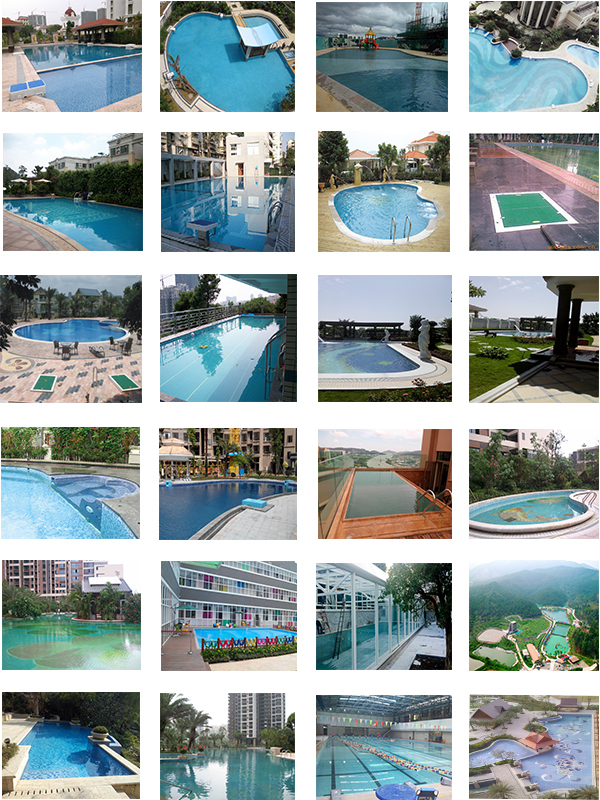 French degaulle small garden easy pool with swimming pool for Gardens pool supply