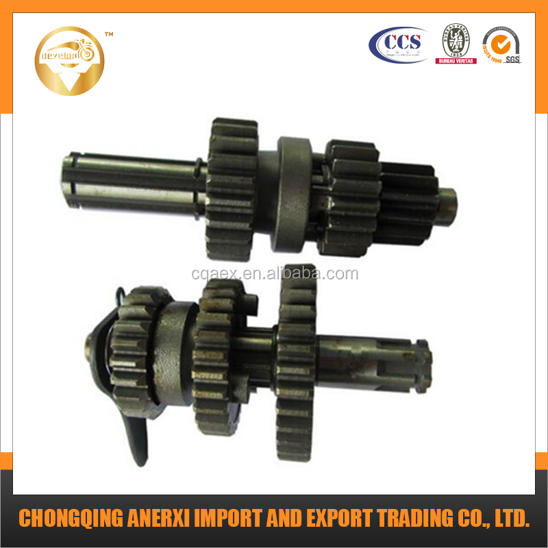 Motorcycle engine Parts Chongqing CG200cc 150cc atv reverse gear main shaft