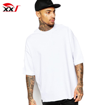 1c7a108e22d men garments heavy cotton t shirts white plain t-shirts cheap wholesale  oversize fit half