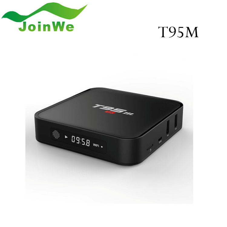 Joinwe Customized logo T95m android <strong>Amlogic</strong> S905 5.1 <strong>tv</strong> <strong>box</strong> codi set top <strong>box</strong>