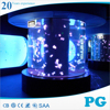 PG Custom Large Cylinder Acrylic Aquarium