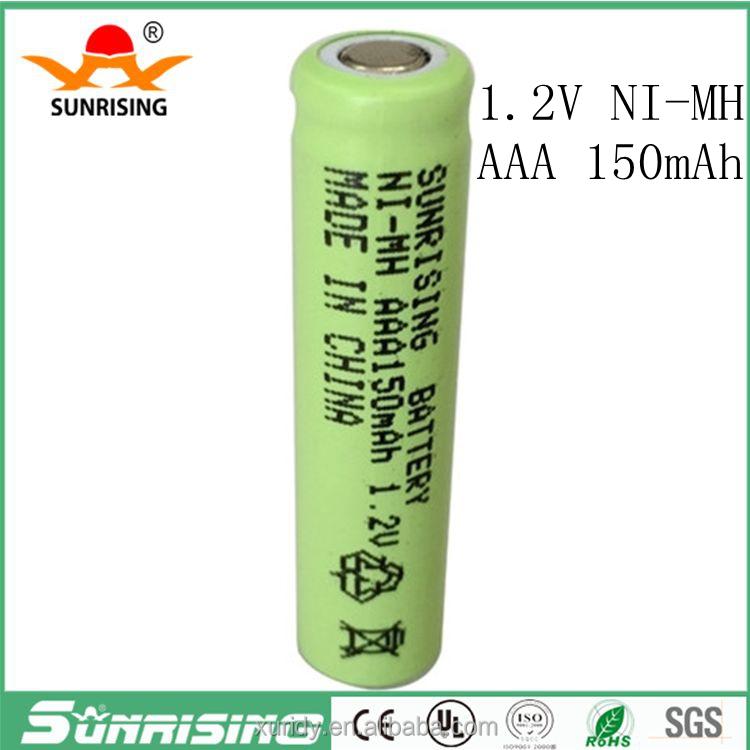 Nimh Battery Pack Ni Mh Aaa 150mah 12v Aaa Rechargeable Battery Aaa