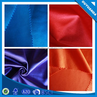 2017 Canton Fair Factory Plain Satin Summer Dress Polyester Plain Fabric