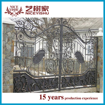 Modern Cheap High Quality Factory Modern Sliding Single Main Gate