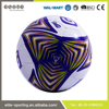 China wholesale custom print rubber football soccer ball and training football