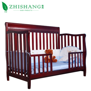 3 in 1 Non-toxic Convertible Wooden Baby Crib