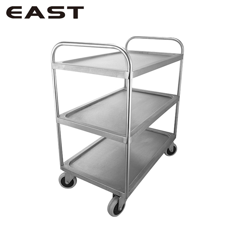 Good Quality Housekeeping Mini Bar Beverage Trolley/Iron Industrial Trolley