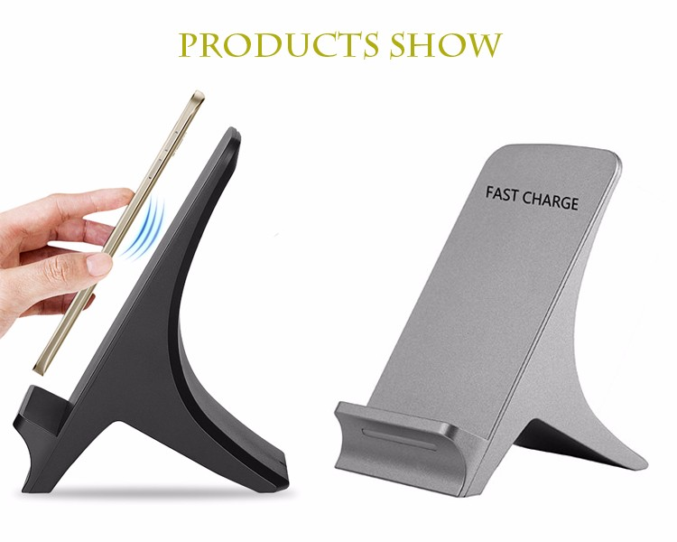New style fast wireless charger of phone, two wireless charger coil