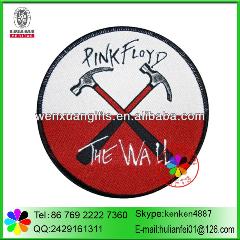 Cheap price factory supply woven patches for clothing