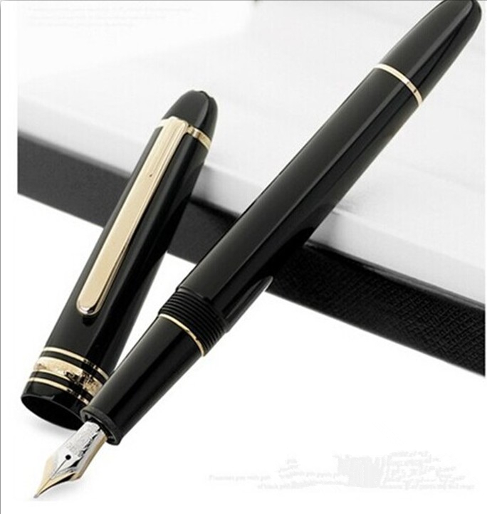 Classique MB Meisterstuck 145 Fountain Pen, office supplies ink pens for writing with MB gift box