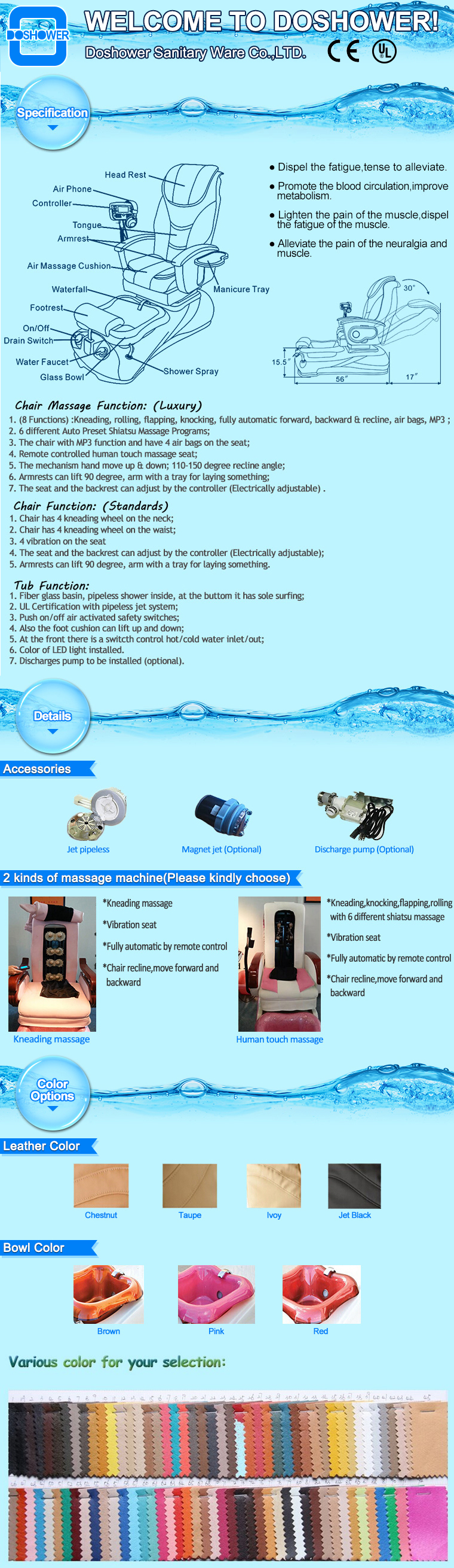 Pediküre becken liner mit kunststoff spa liner für pipeless pediküre spa stuhl