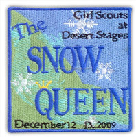 The Snow Queen Embroidery Girl Scout Uniforms Badge