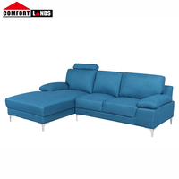 Comfortlands Living furnishings furniture home sectional fabric sofa for sale comfortable modern design couches and sofas