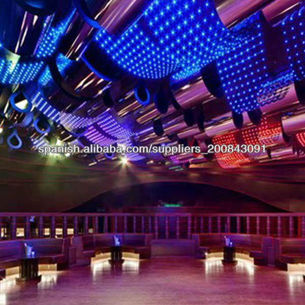 p cortina de luz led para la decoracin del escenario de la boda