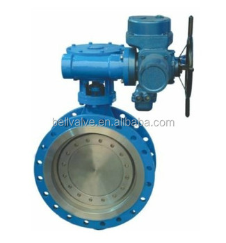 Electric motor operated valve large size butterfly valve for Motor operated butterfly valve