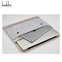 Wholesale laptop cover for macbook/macbook pro for macbook felt sleeve custom laptop sleeve microfiber laptop sleeve