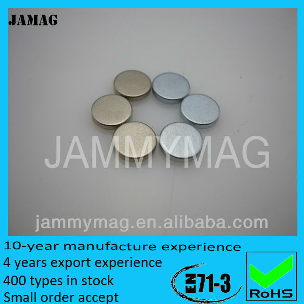raw materials for push pin magnet