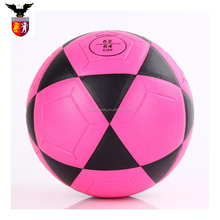 High Quality Pink Size 4 Laminated Soccer Ball