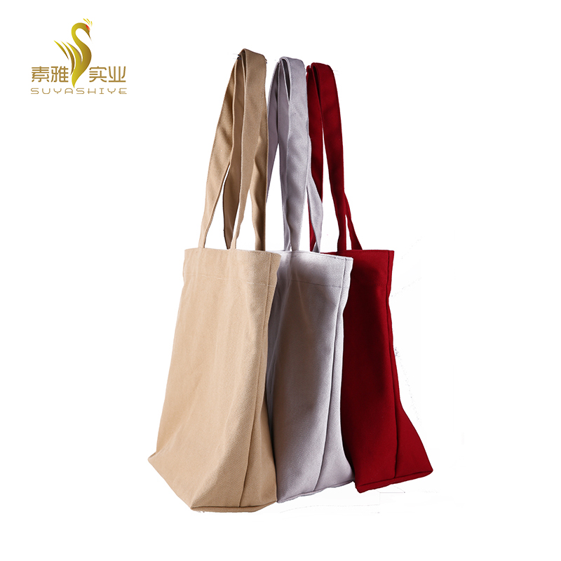 Canvas Gift Bag Material Tote Bag Wholesale
