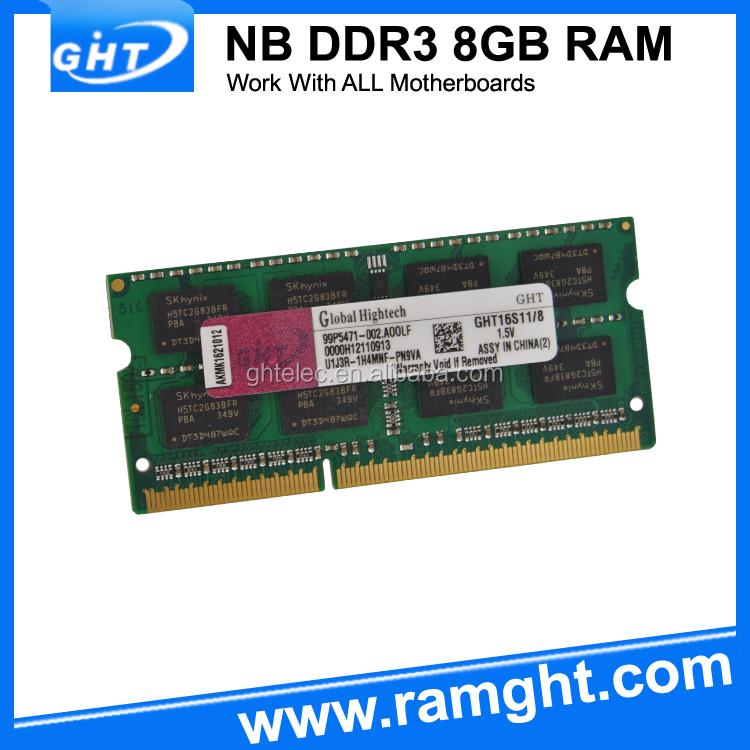 Cheap price ETT CHIPS best price 512mb*8 ddr 3 ram 8gb for laptop