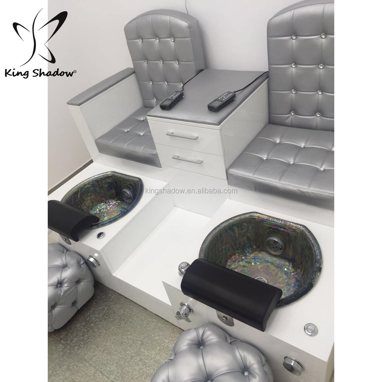 Used Pedicure Chair Alibaba >> Kingshadow Cheap Nail Spa Chair Used Nail Salon Furniture Pedicure