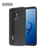 Luxury genuine leather phone case cover for Samsung S9