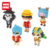 New custom nano brick one piece action figure toy anime