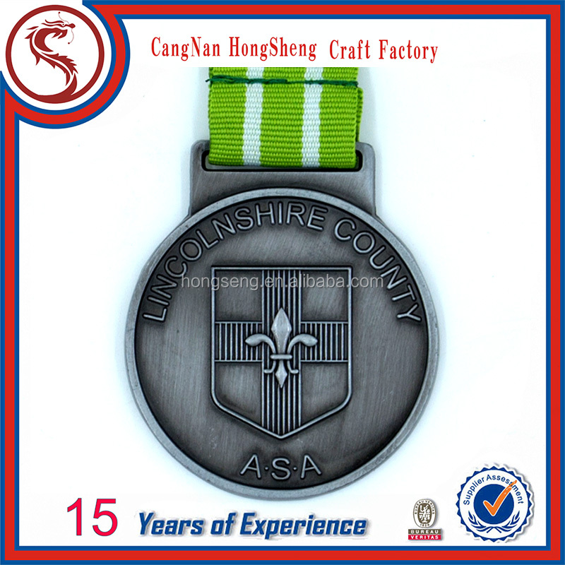 Metal Medal for Sports Medal with 3D Logo