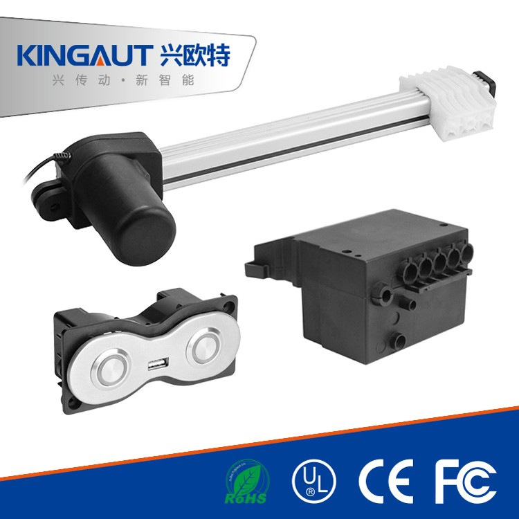 High Speed Quality Track Actuator For Modern Tv Lift And