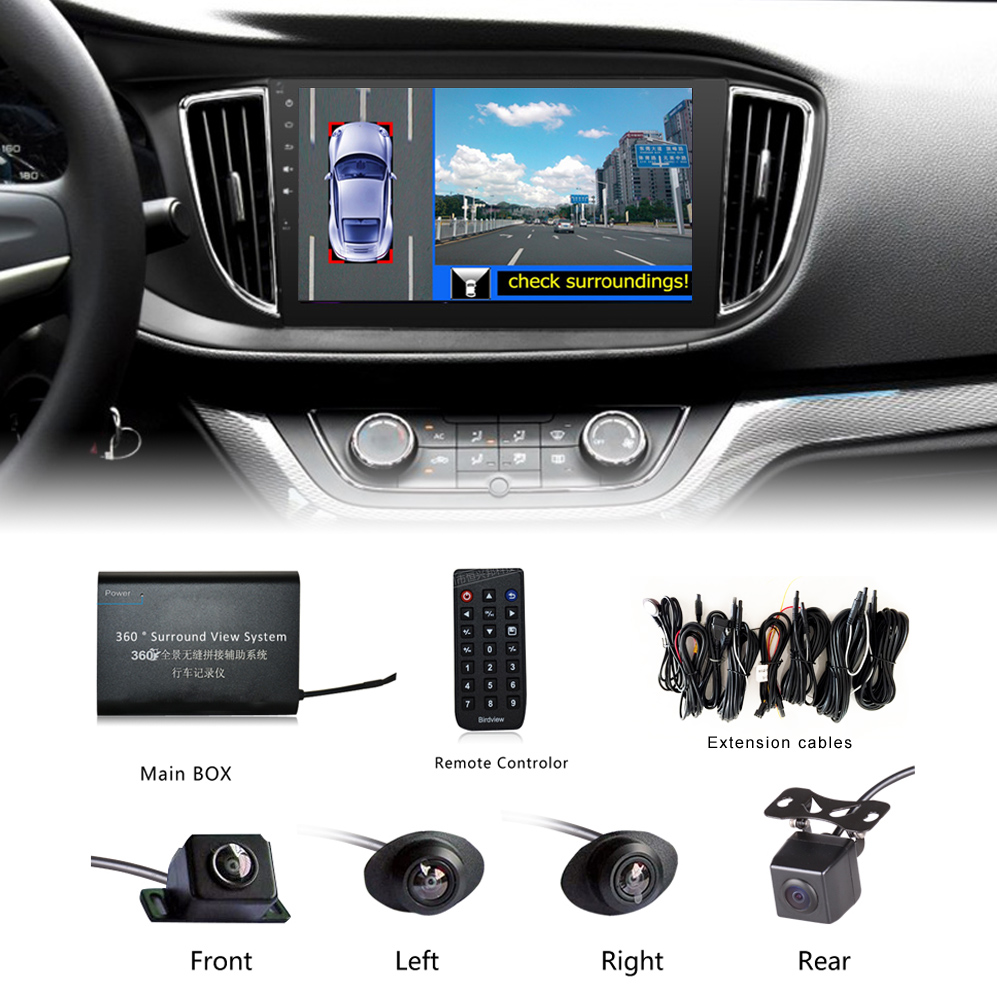Universal 360 Degree Car Security Camera Car Parking
