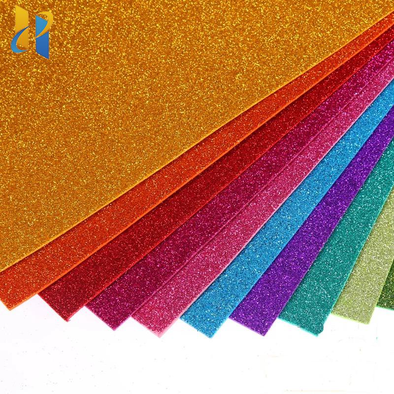 Glitter Papier/Glitter Handwerk Papier/Glitter Karton Papier
