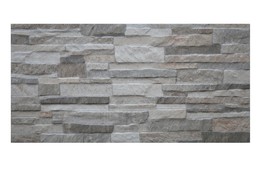 3d Pocelain Stone Look Tiles Outdoor Wall Tiles For Villia Cultural WallTiles