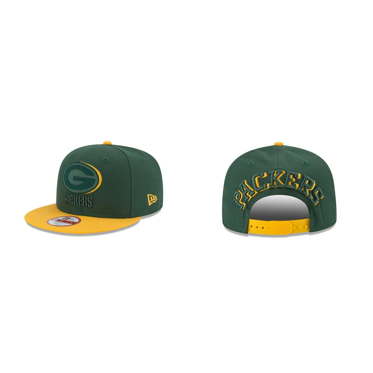 1c0115e11ef Get Quotations · Green Bay Packers Shadow Slice Snapback Cap - Green