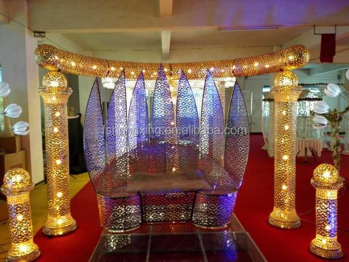 Hot Elegant Used Crystal Wedding Backdrop Stand For Stage Decoration