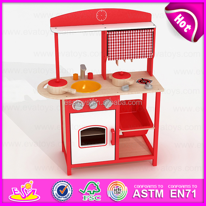 2015 Pretend Kitchen Toy Play Kitchen Set,DIY Wooden kitchen ...