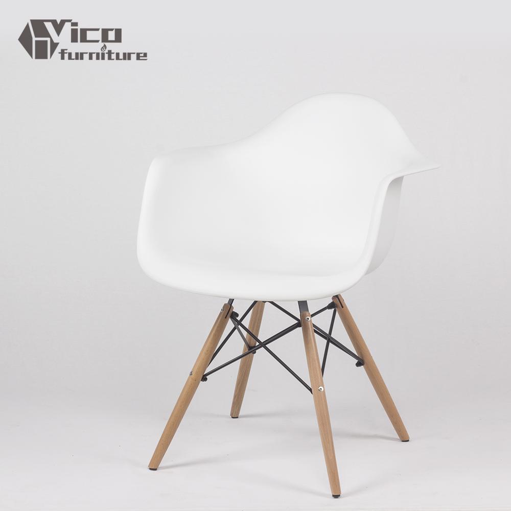 Plastic en hout kopie reproductie meubels moderne leisure stoel eetkamerstoelen product id - Houten plastic stoel ...