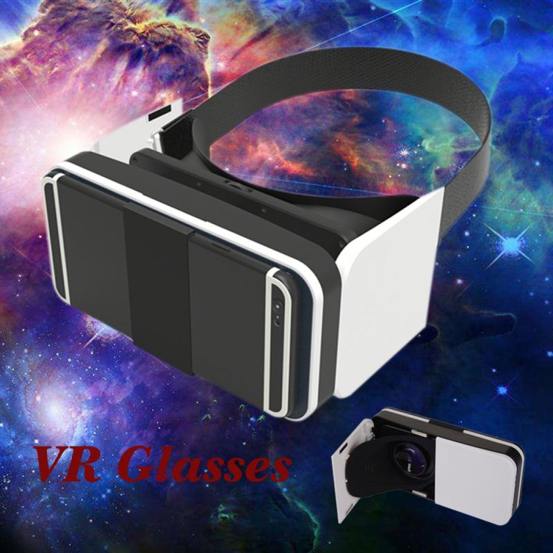 3D VR Virtual Video Glasses for Focal Distance adjustment, Custom 3D VR Virtual Reality Headset, Movie Visor 3D VR